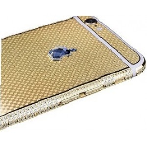 Cover white diamonds security protect your iPhone 6