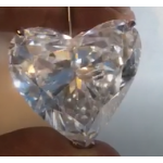 100,47 ct Heart D IF VG G Non