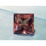 127,03 ct SQUARE  DIASPORE-Zultanite~Yell.Green-chang-Pink.Brown