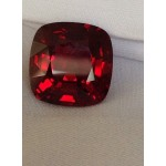 15,70 carats CUSHION Brilliant Cut Burmese Spinel
