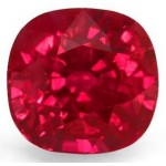 1,44 ct-CUSHION-Type-I-VVS2-Burmese Vivid RED RUBY