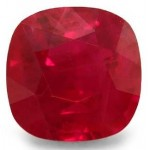 1,73 ct-CUSHION-Type-I-VVS2-Burmese Intense Pinkish-RED RUBY-NTE