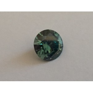 3,53 ct Vivid GREEN ROUND Cut Diamond ~ VVS2