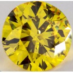 4,50 ct-ROUND-LIR-VS2^Fancy Vivid Yellow