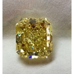 33.06 ct Fancy Vivid Yellow Cut Diamonds